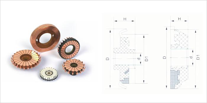 电机用平面型换向器