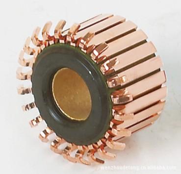 铜套钩型换向器
