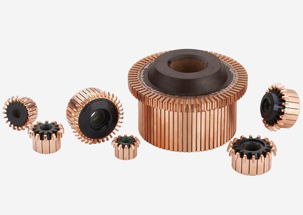 铜套槽型换向器,稳定合理制造